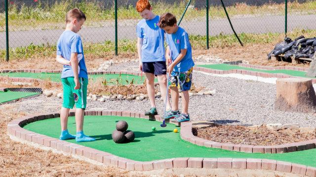 Deň detí 2015 - golf
