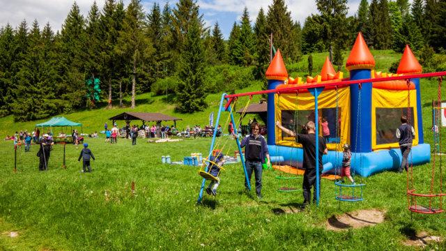 Športový deň 2019 - skákací hrad