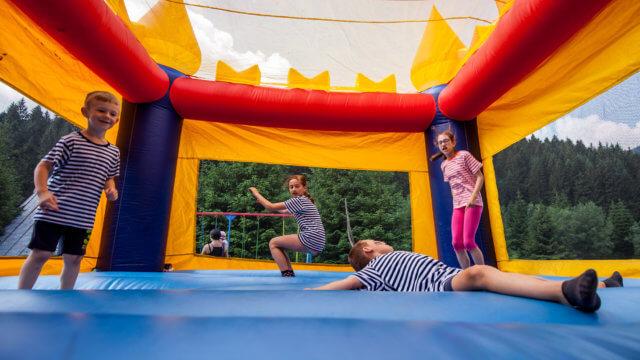 Den deti 2017 - skakaci hrad